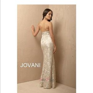 New jovani black & silver dress size 4!!!
